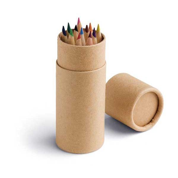 91752-Caja con 12 lápices de color