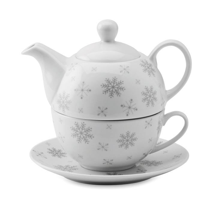 Juego de té de Navidad