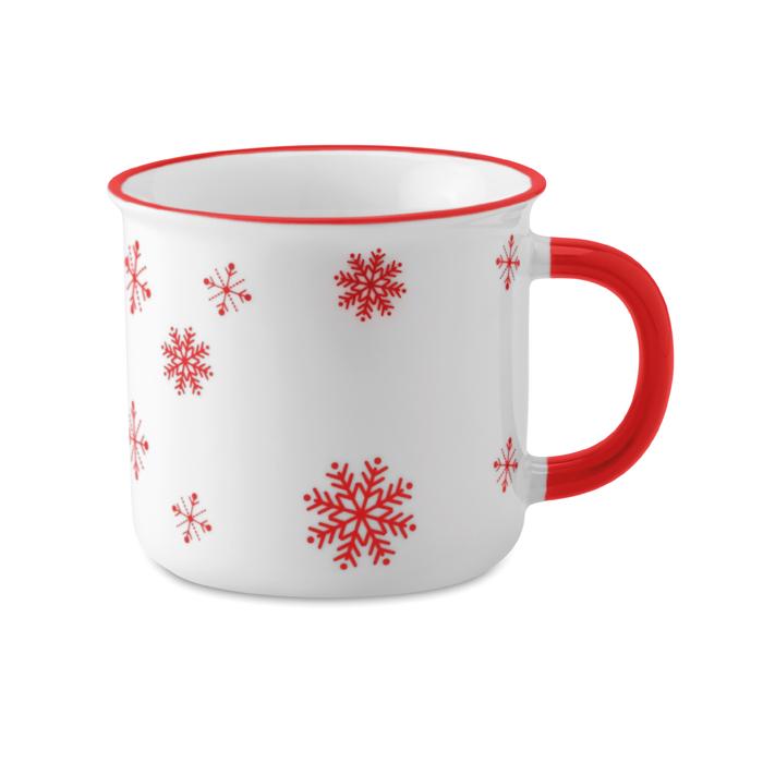Taza de Navidad vintage