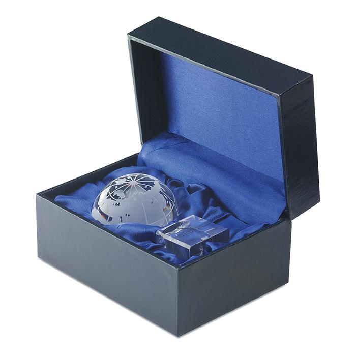 IT1537-Pisapapeles Mundi cristal