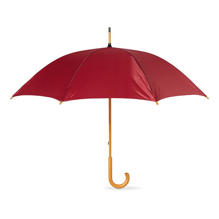 Paraguas mango de madera