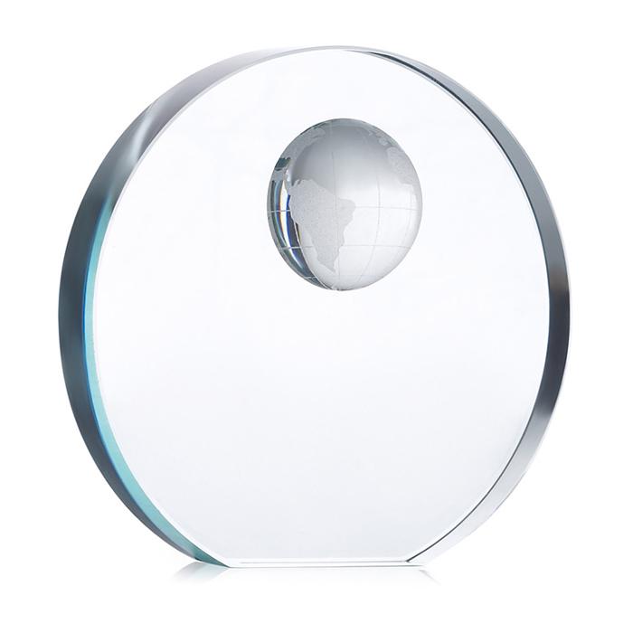 MO7183-Trofeo esfera cristal