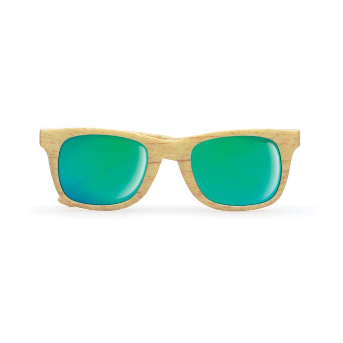 Gafas efecto madera
