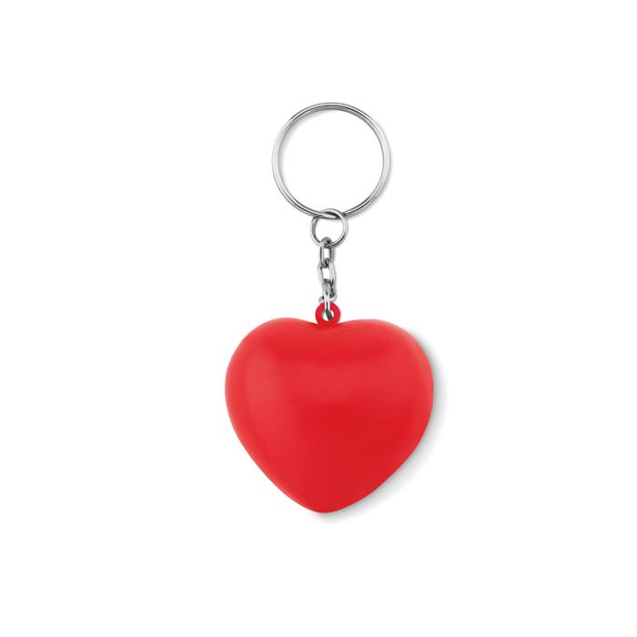 MO9210-Llavero corazón en PU