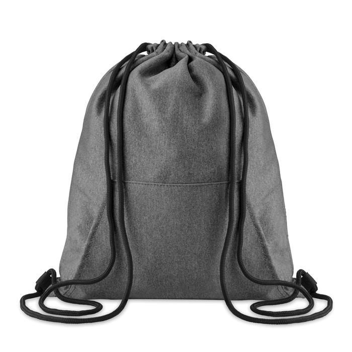 Bolsa cuerdas con bolsillo