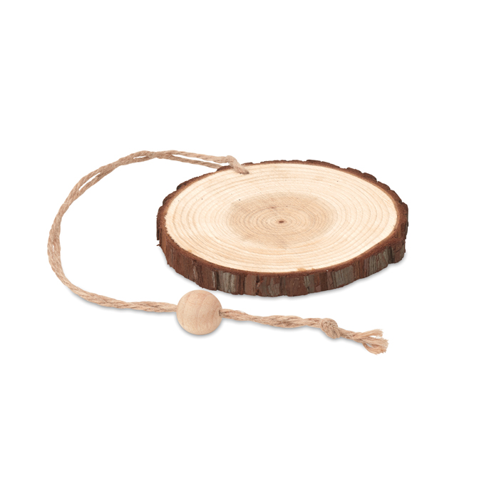 Colgador redondo de madera