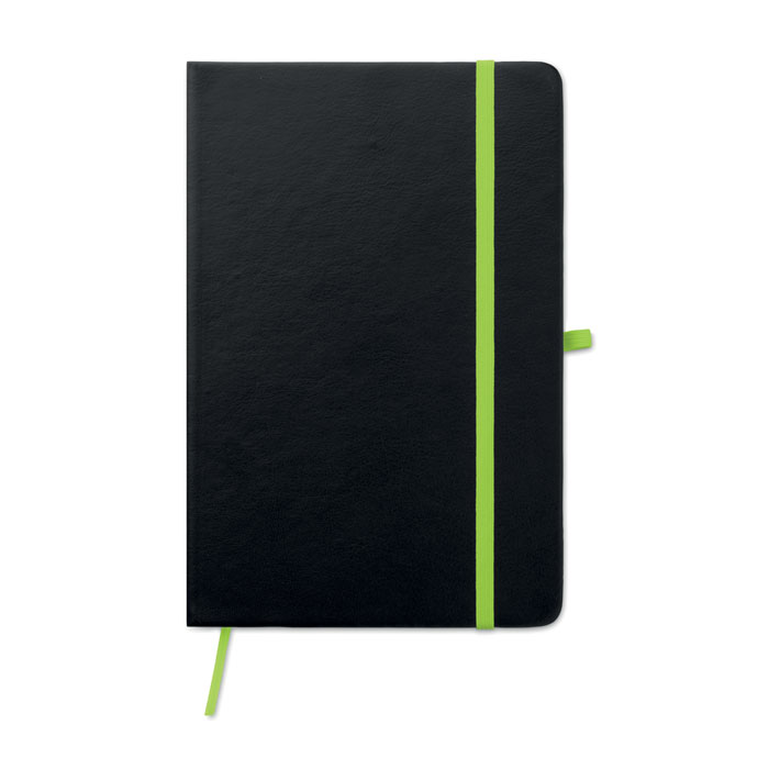 Cuaderno con tapa de PU láser