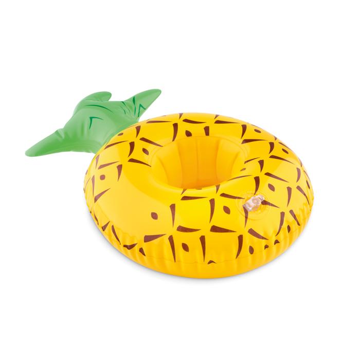 Portalatas inflable piña