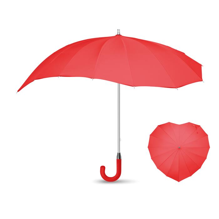 Paraguas corazón 25
